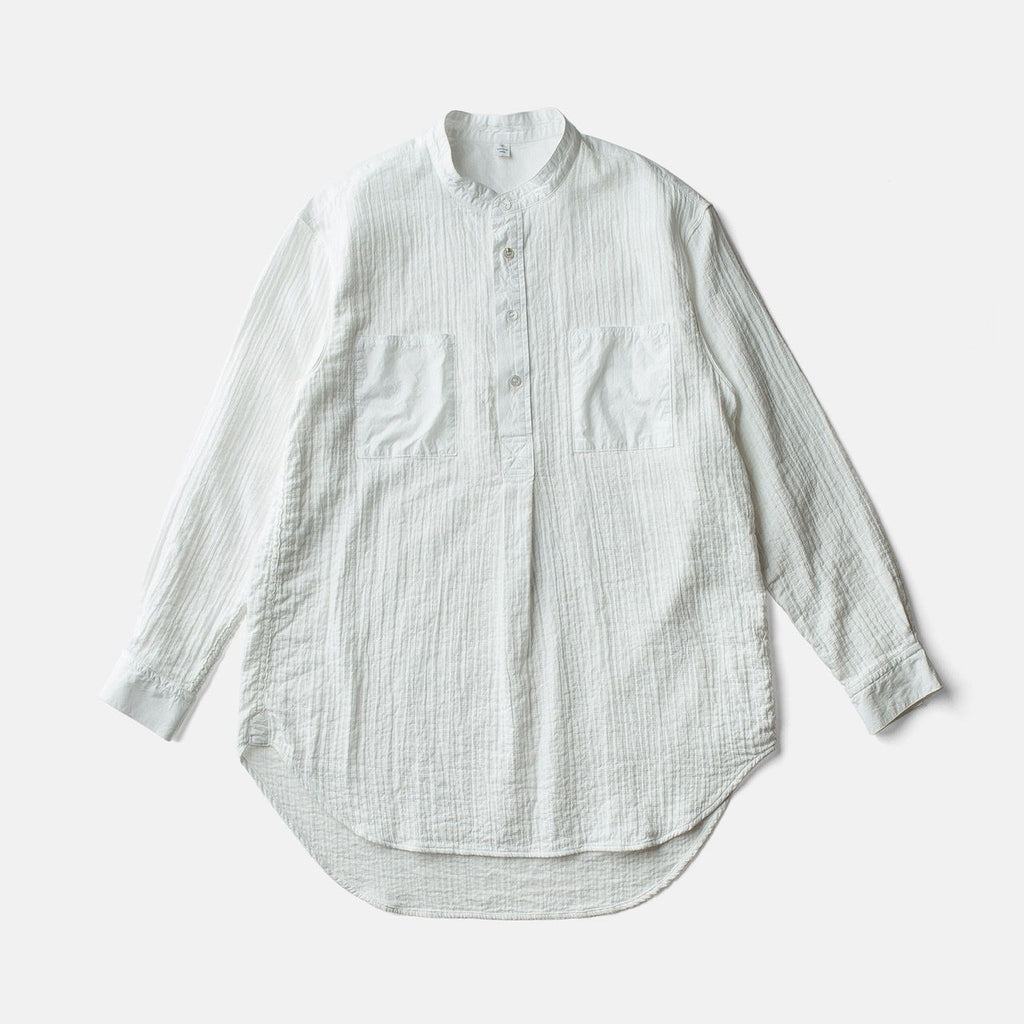 ZEN WHISPERING SEA COTTON SHIRT-WHITE