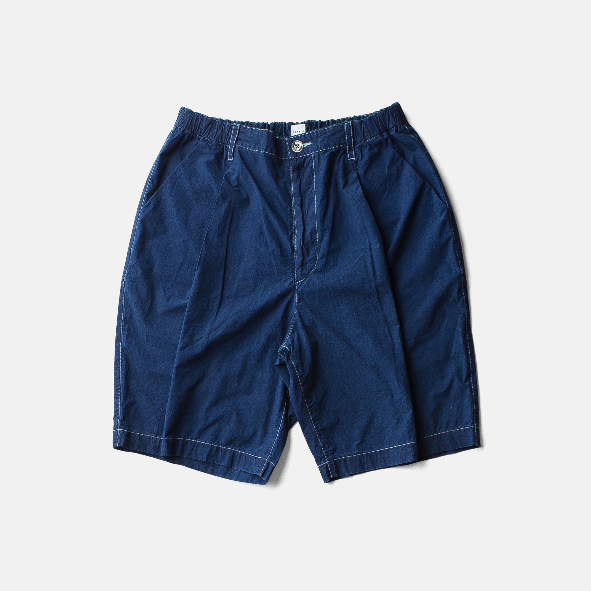 ZEN LOAN TACTAC SHORTSーAUTHENTIC INDIGO