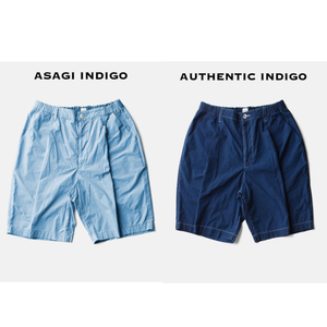 ZEN LOAN TACTAC SHORTSーASAGI INDIGO