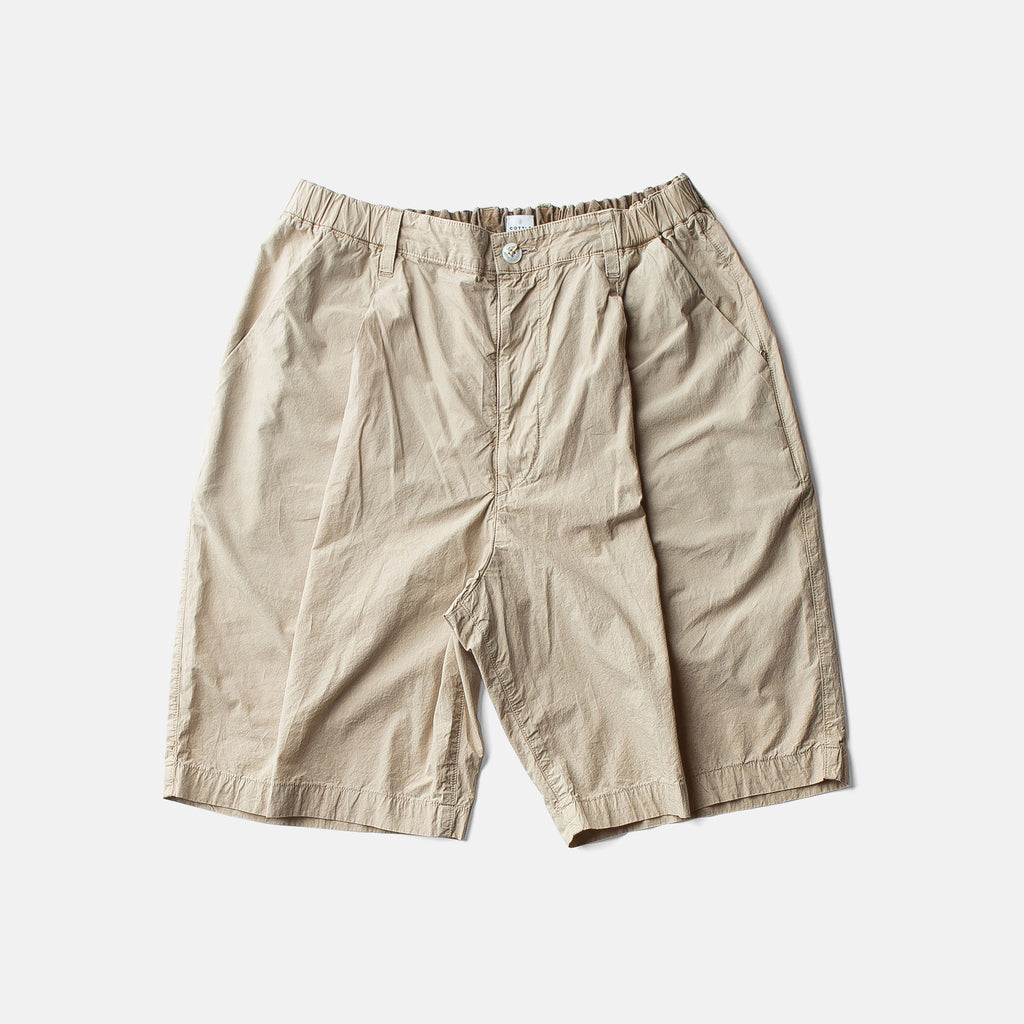ZEN LOAN TACTAC SHORTSーCOFFEE