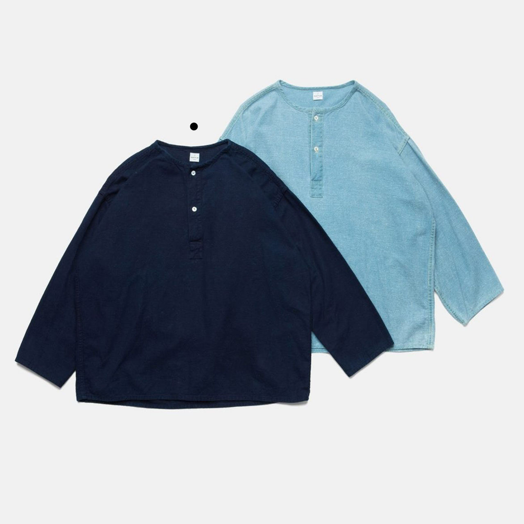 SLEEP NEP NEL SHIRT-AUTHENTIC INDIGO