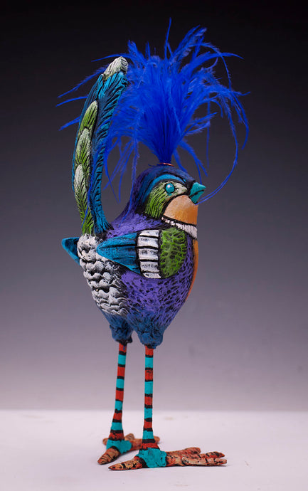Sassy Fluffbutt Bird Sculpture