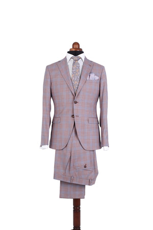PINK CHECK SUIT