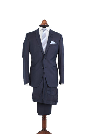 THE STRETCH NAVY SUIT