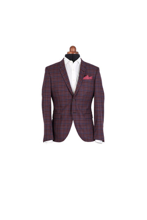 BORDO CHECKERED JACKET