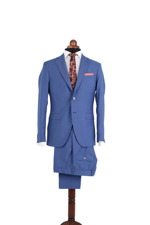 MOHAIR BLUE SUIT