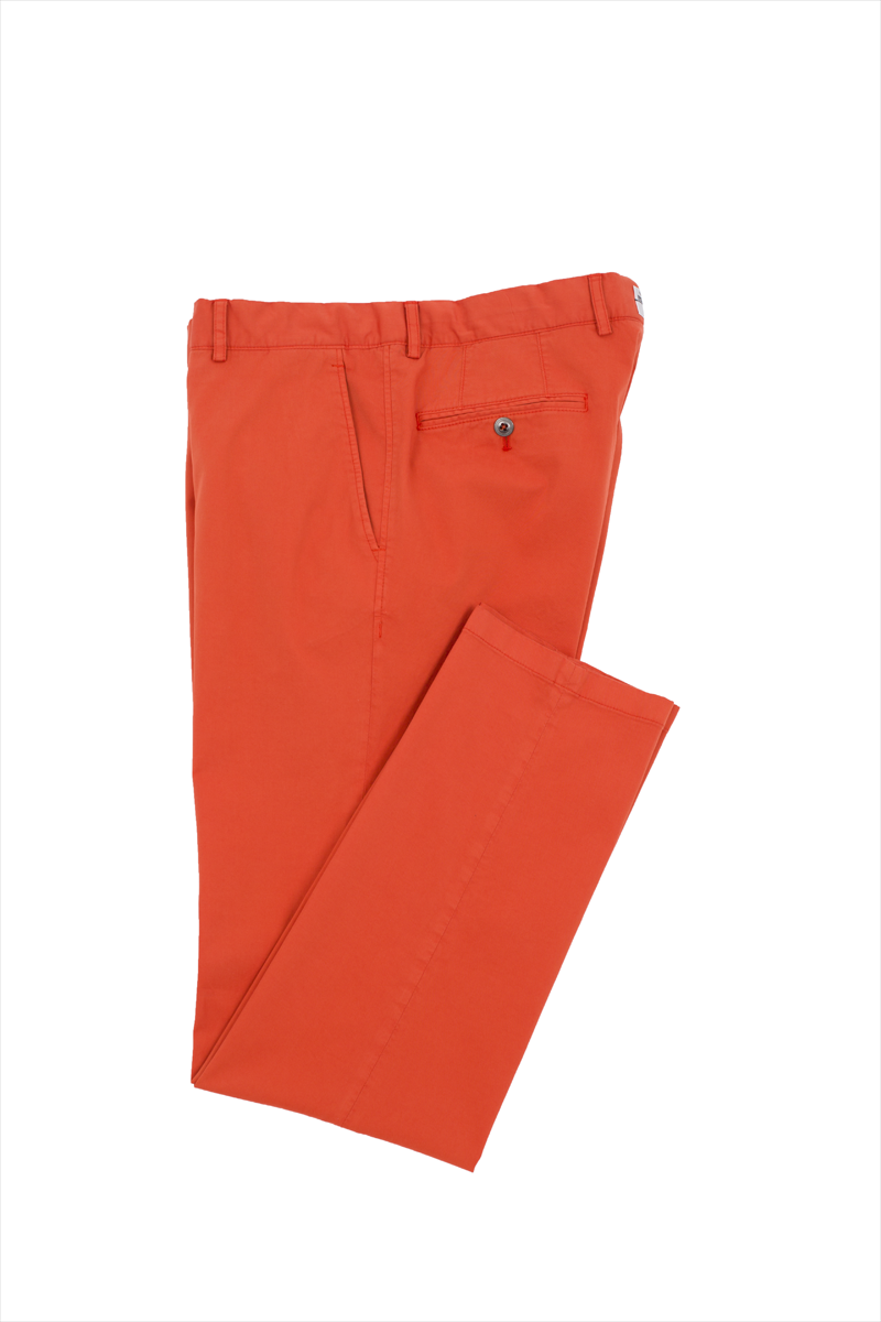 BRIGHT ORANGE CHINOS