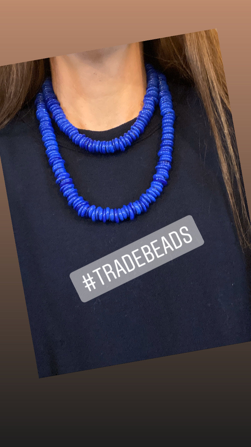 Vintage African Trade Beads | Teal
