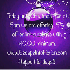Christmas Holiday Sale!