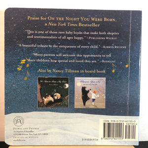 On the Night You Were Born   by Nancy Tillman    used Board Book