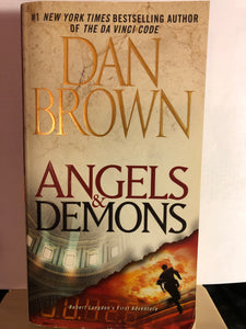 Angels & Demons   by Dan Brown    (Robert Langdon #1)
