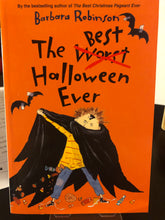Load image into Gallery viewer, The Best Halloween Ever    by Barbara Robinson    (The Herdmans #3)
