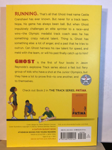 Ghost    by Jason Reynolds    (Track #1)    paperback