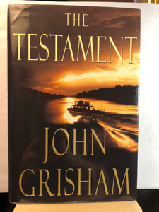 The Testament   by John Grisham      Used Hardcover