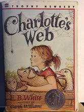 Load image into Gallery viewer, Charlotte's Web   by E.B. White
