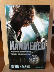 Hammered   by Kevin Hearne   (Iron Druid Chronicles #3)