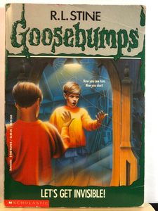 Let's Get Invisible!   by R.L. Stine   (Goosebumps #6)    used paperback