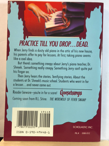 Piano Lessons Can Be Murder   by R.L. Stine   (Goosebumps #13)   used paperback
