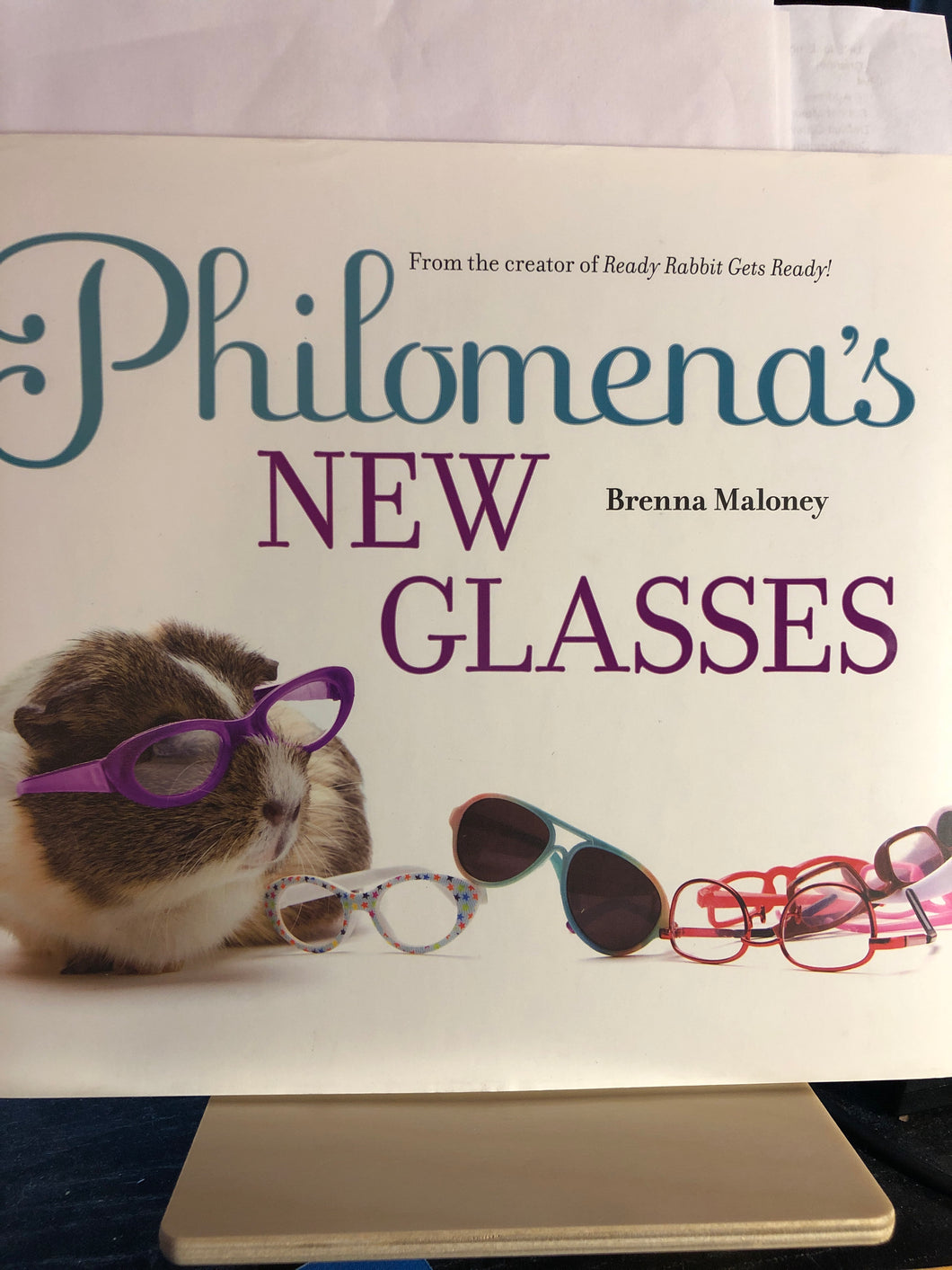 Philomena's New Glasses   by Brenna Maloney    Picture Book