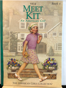 Meet Kit: An American Girl   by Valerie Tripp   (American Girl: Kit #1)   used paperback