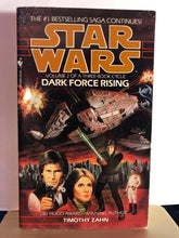 Load image into Gallery viewer, Dark Force Rising   by Timothy Zahn  (Star Wars: The Thrawn Trilogy #2)