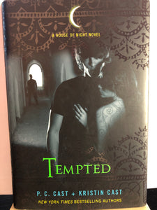 Tempted   by P.C. & Kristin Cast  (House of Night #6)  Hardcover