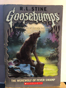The Werewolf of Fever Swamp    by R.L. Stine   (Goosebumps #14)   used paperback