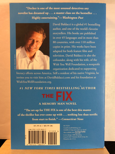 The Fix    by David Baldacci     (Amos Decker #3)    Remainder paperback