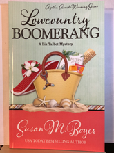 Load image into Gallery viewer, Lowcountry Boomerang   by Susan M. Boyer    (Liz Talbot Mystery #8)   paperback