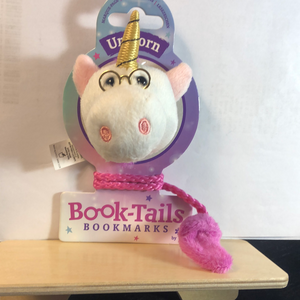 Unicorn Book-Tails Bookmark
