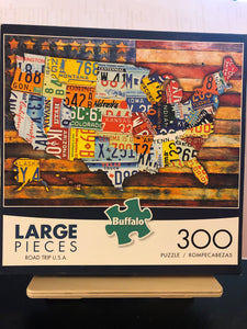 Road Trip USA    Map Puzzle    by Buffalo   300 pieces