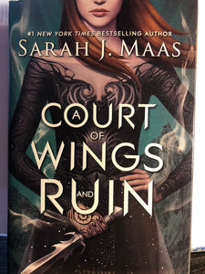 A Court of Wings and Ruin   by Sarah J. Maas    (A Court of Thorns and Roses #3)  Hardcover