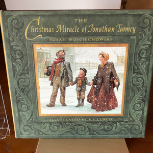 The Christmas Miracle of Jonathan Toomey   by Susan Wojciechowski    Used Hard cover