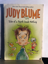 Load image into Gallery viewer, Tales of a Fourth Grade Nothing   by Judy Blume    (Fudge #1)