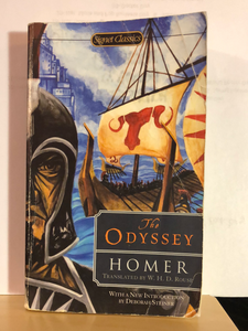 The Odyssey    by Homer  translated by W.H.D. Rouse   Paperback