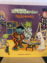 Load image into Gallery viewer, The Night Before Halloween     by Natasha Wing