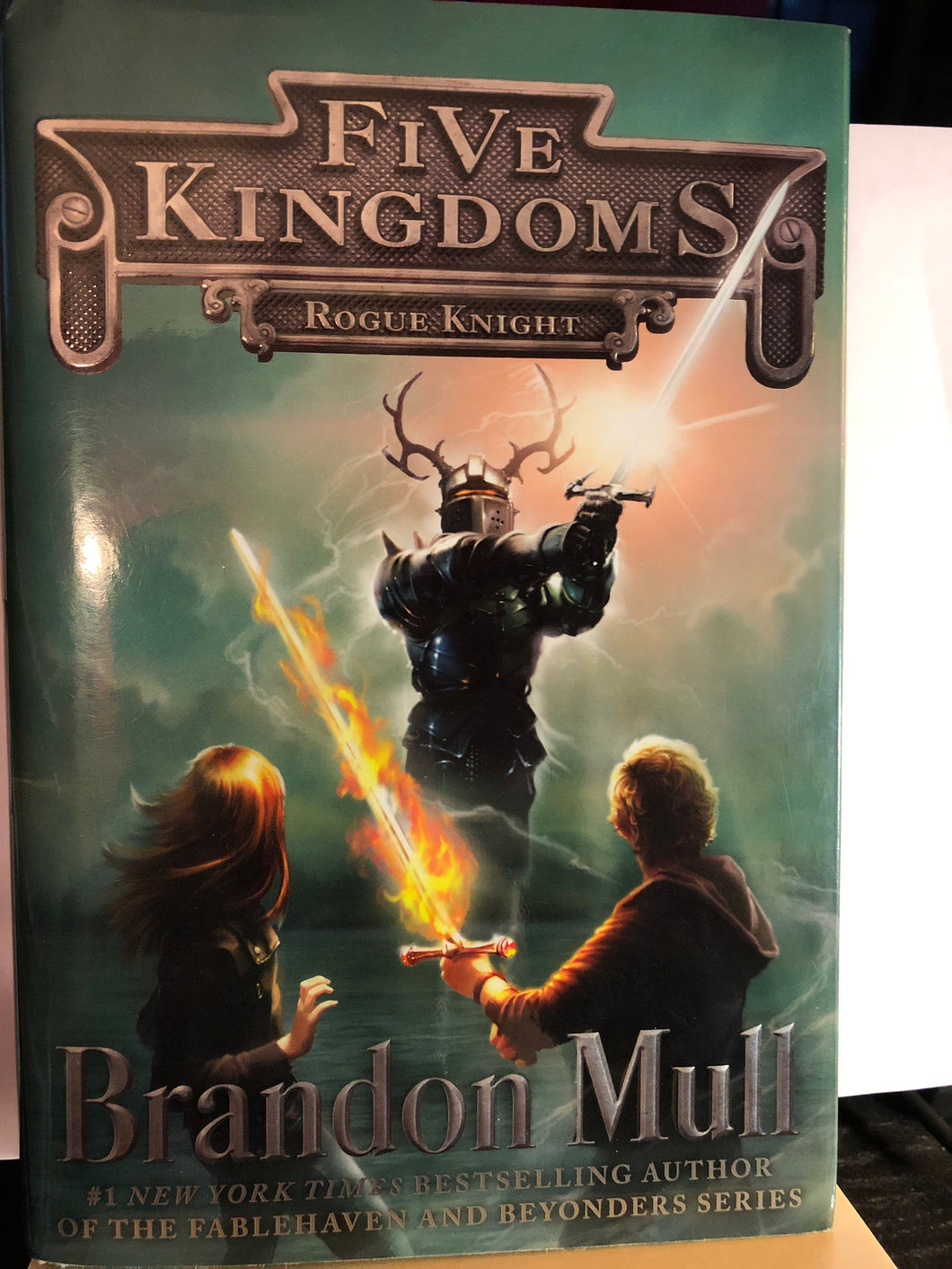 Rogue Knight  by Brandon Mull  (Five Kingdoms #2)  Hardcover