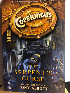 The Serpent's Curse  by Tony Abbott  (The Copernicus Legacy #2)