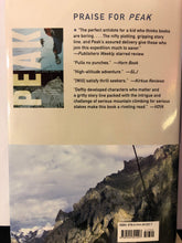 Load image into Gallery viewer, The Edge  by Roland Smith  (Peak #2)  (Hardcover)