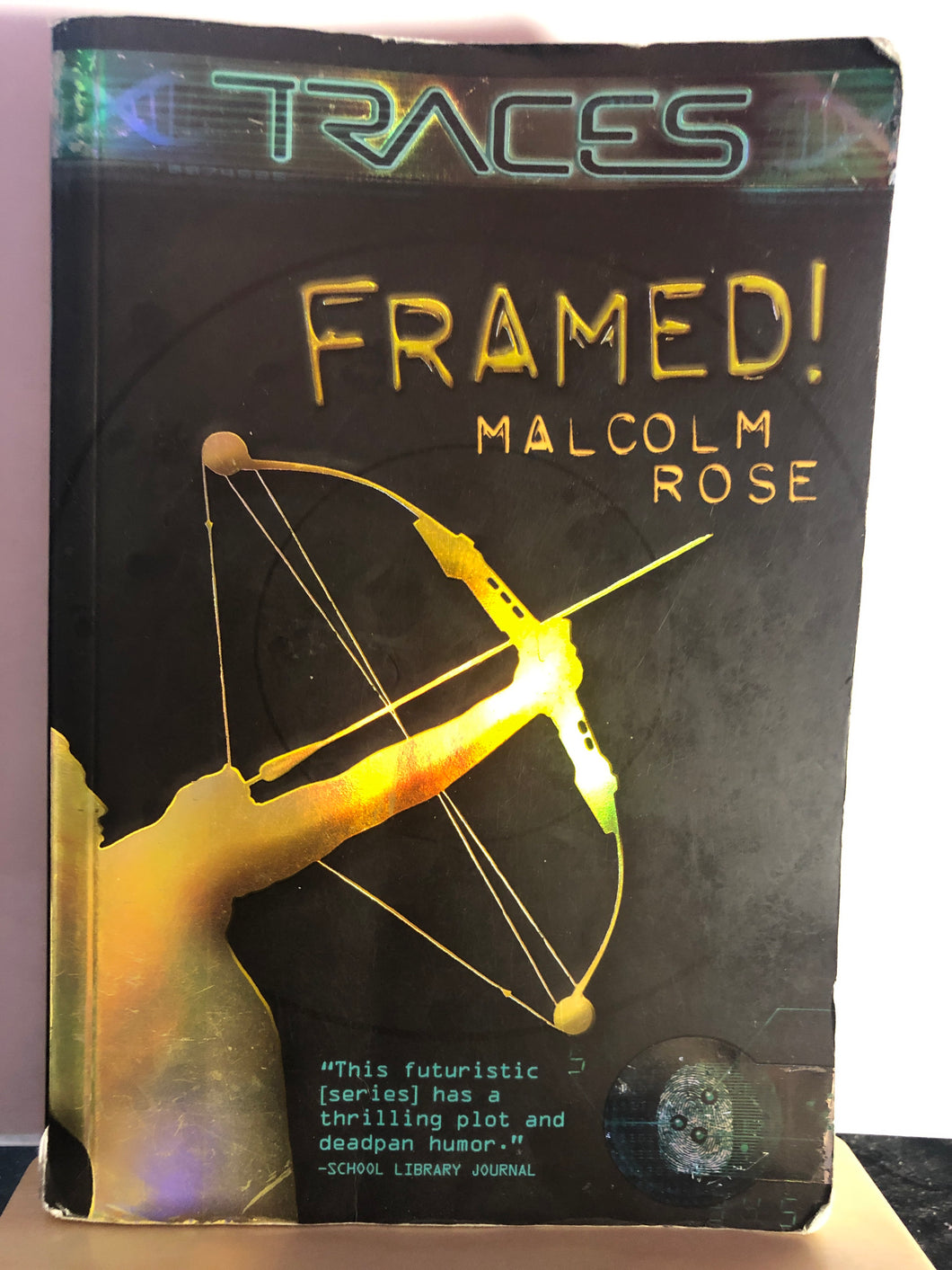 Framed!   by Malcolm Rose  (Traces #1)