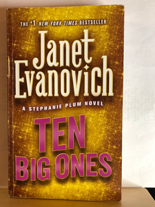 Ten Big Ones   by Janet Evanovich    (Stephanie Plum #10)    used paperback