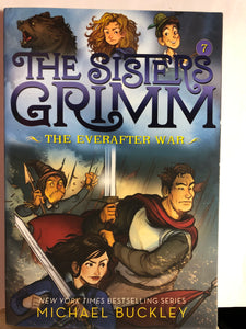 The Everafter War    by Michael Buckley    (The Sisters Grimm #7)