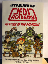 Load image into Gallery viewer, Star Wars: Return of the Padawan   by Jeffrey Brown   (Jedi Academy #2)  hardcover