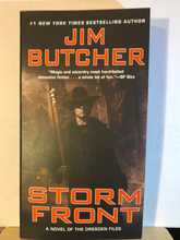 Load image into Gallery viewer, Storm Front    by Jim Butcher    (The Dresden Files #1)   paperback