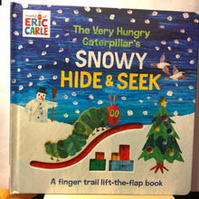Load image into Gallery viewer, The Very Hungry Caterpillar's Very Snowy Hide & Seek    World of Eric Carle   Board book Flap book