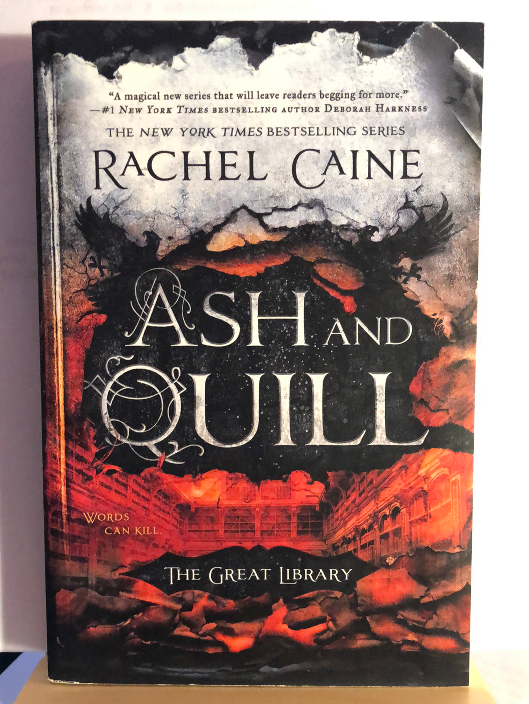 Ash and Quill   by Rachel Caine   (The Great Library #3)    Paperback