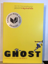 Load image into Gallery viewer, Ghost    by Jason Reynolds    (Track #1)    paperback