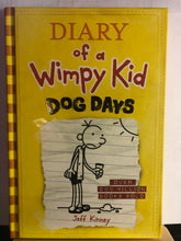 Load image into Gallery viewer, Dog Days   by Jeff Kinney   (Diary of A Wimpy Kid #4)
