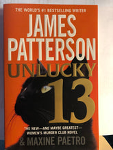 Load image into Gallery viewer, Unlucky 13     by James Patterson     (Women's Murder Club #13)