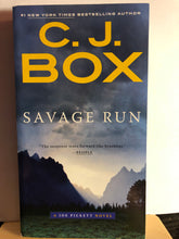 Load image into Gallery viewer, Savage Run   by C.J. Box   (Joe Pickett #2)